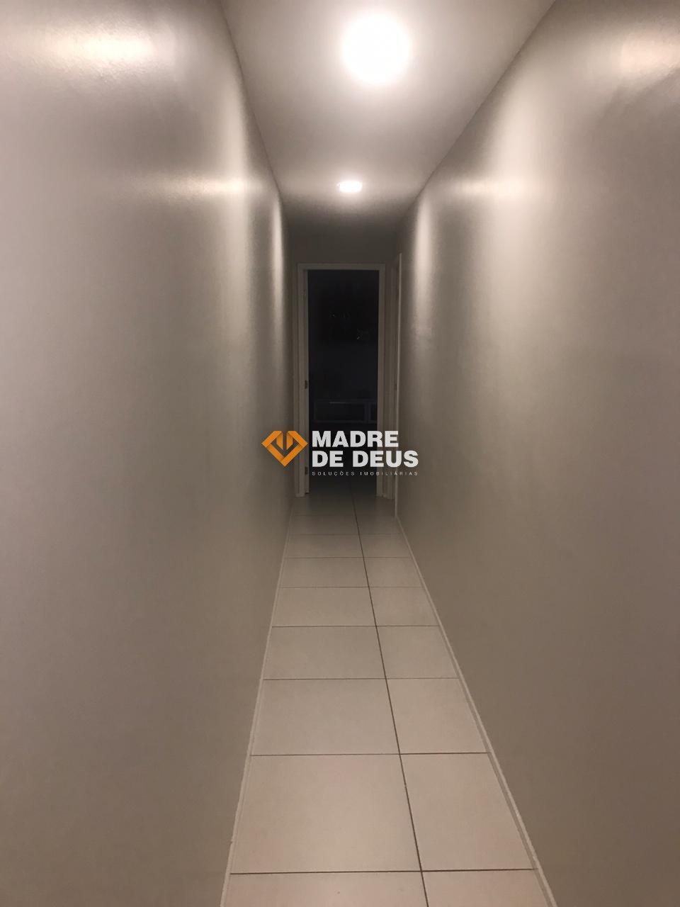 corredor  de acesso as suítes