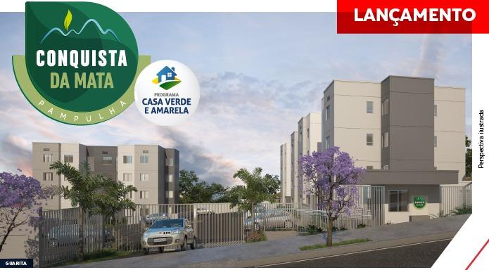 Apartamento de 42,11m²,  à venda
