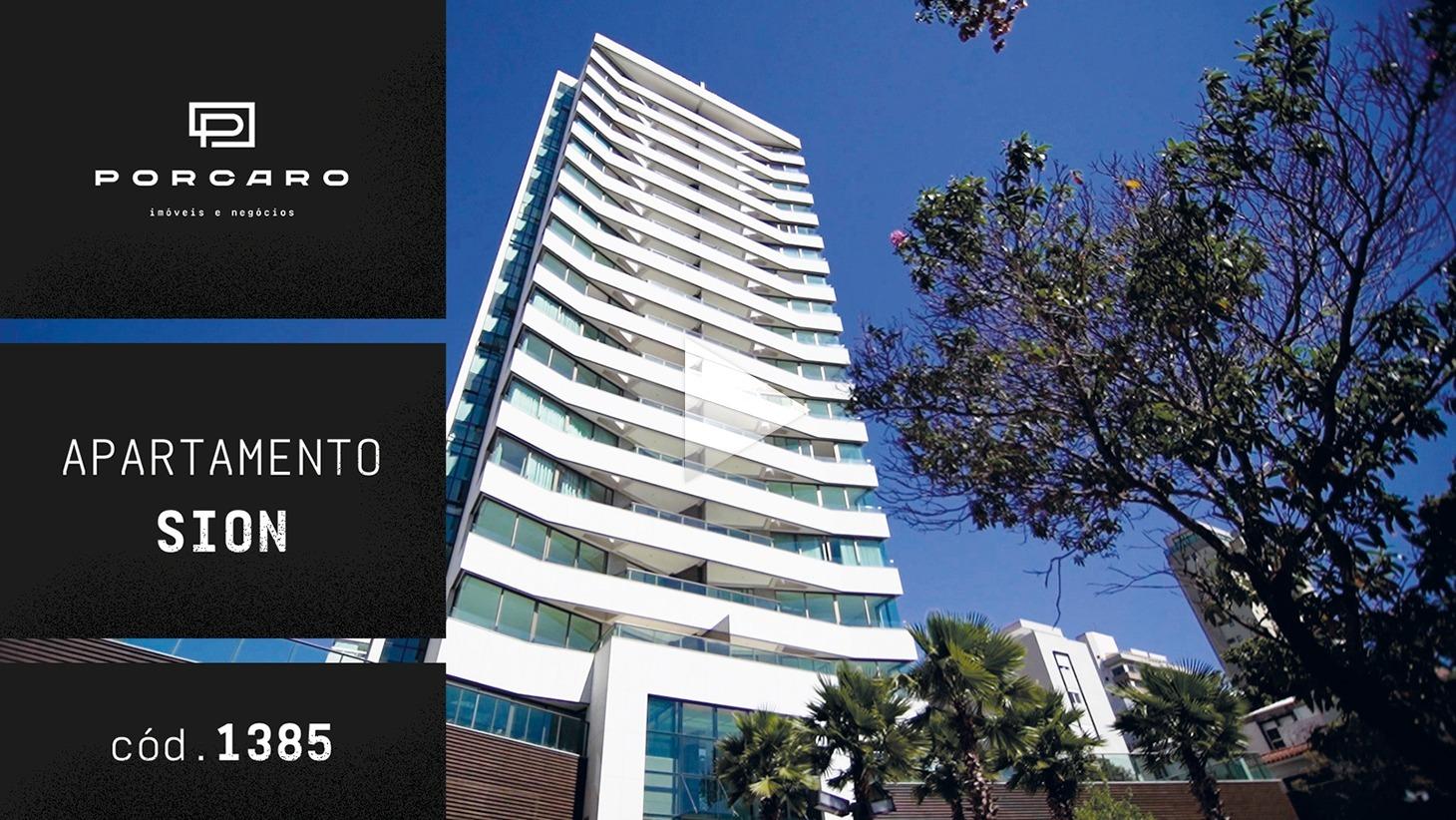 No Edifício Jardim Sion Residence, amplos apartamentos e lazer garantido