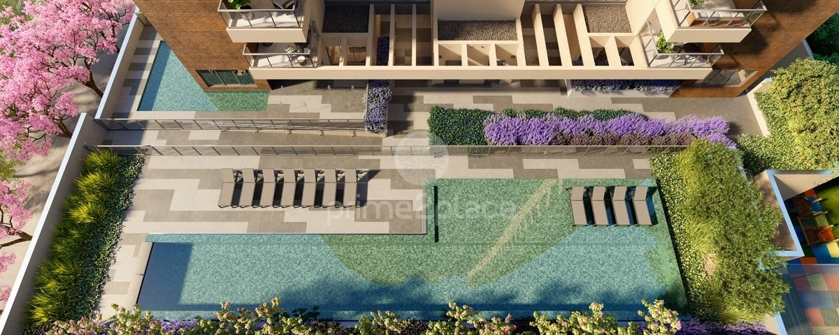 Perspectiva ilustrada da piscina 3