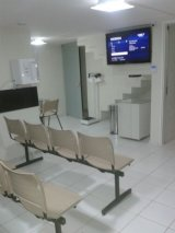 térreo / ambiente 1  : recepção, sala de espera 1 e  consultório