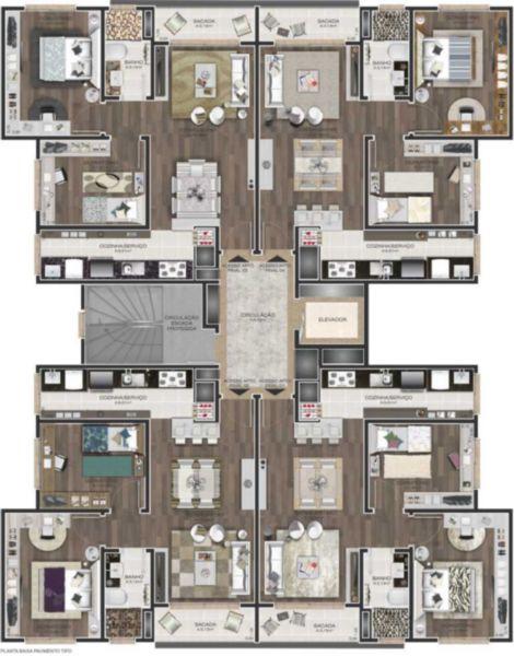 Apartamento em Caxias Do Sul | Edificio Versace