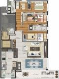 Apartamento em Caxias Do Sul | Wright House | Miniatura