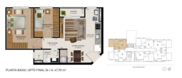 Apartamento em Caxias Do Sul | Residencial Colina Ducale