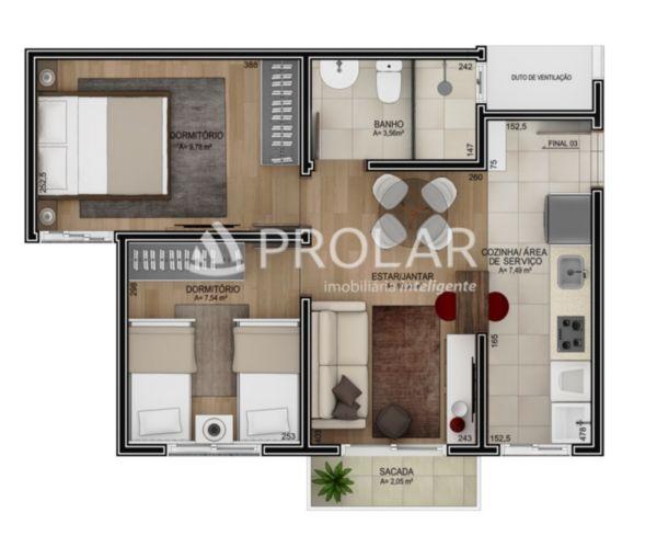 Apartamento em Caxias Do Sul | Residencial Tangarás