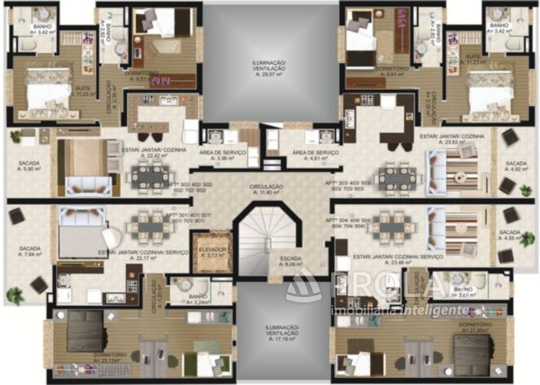 Apartamento em Caxias Do Sul | Residencial Altino