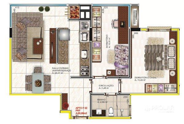 Apartamento em Bento Gonçalves | Edificio Vitoriano
