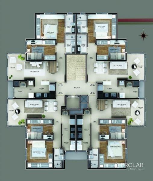 Apartamento em Bento Goncalves   Residencial Porto Seguro