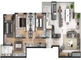 Apartamento em Bento Gonçalves   Residencial Le Mont   Miniatura