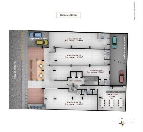 Sala em Bento Gonçalves | Residencial Villa Di Tondo