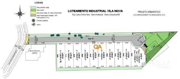 Terreno em Bento Gonçalves | Terreno - Loteamento Industrial Vila Nova