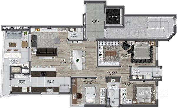 Apartamento em Caxias Do Sul   Astrum Panazzolo