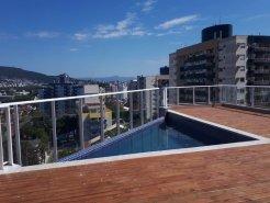 Excelente apartamento novo no Itacorubi c/ 2 vagas