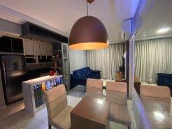 Apartamento mobiliado, terraço, jacuzzi, 2 vagas