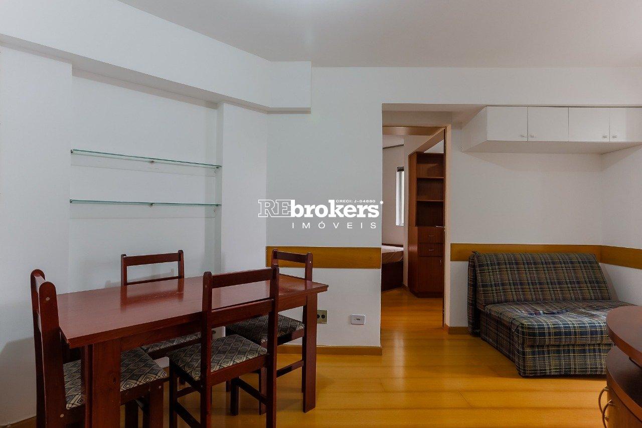 Apartamento com 1 dormitório à venda em Curitiba, no bairro Champagnat
