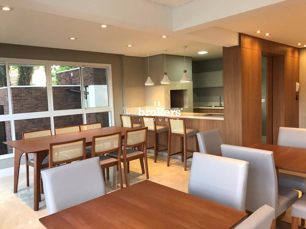 Apartamento com 3 dormitórios à venda em Curitiba, no bairro Mercês