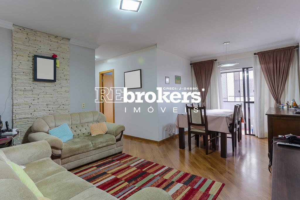 Apartamento com 3 dormitórios à venda em Curitiba, no bairro Cabral