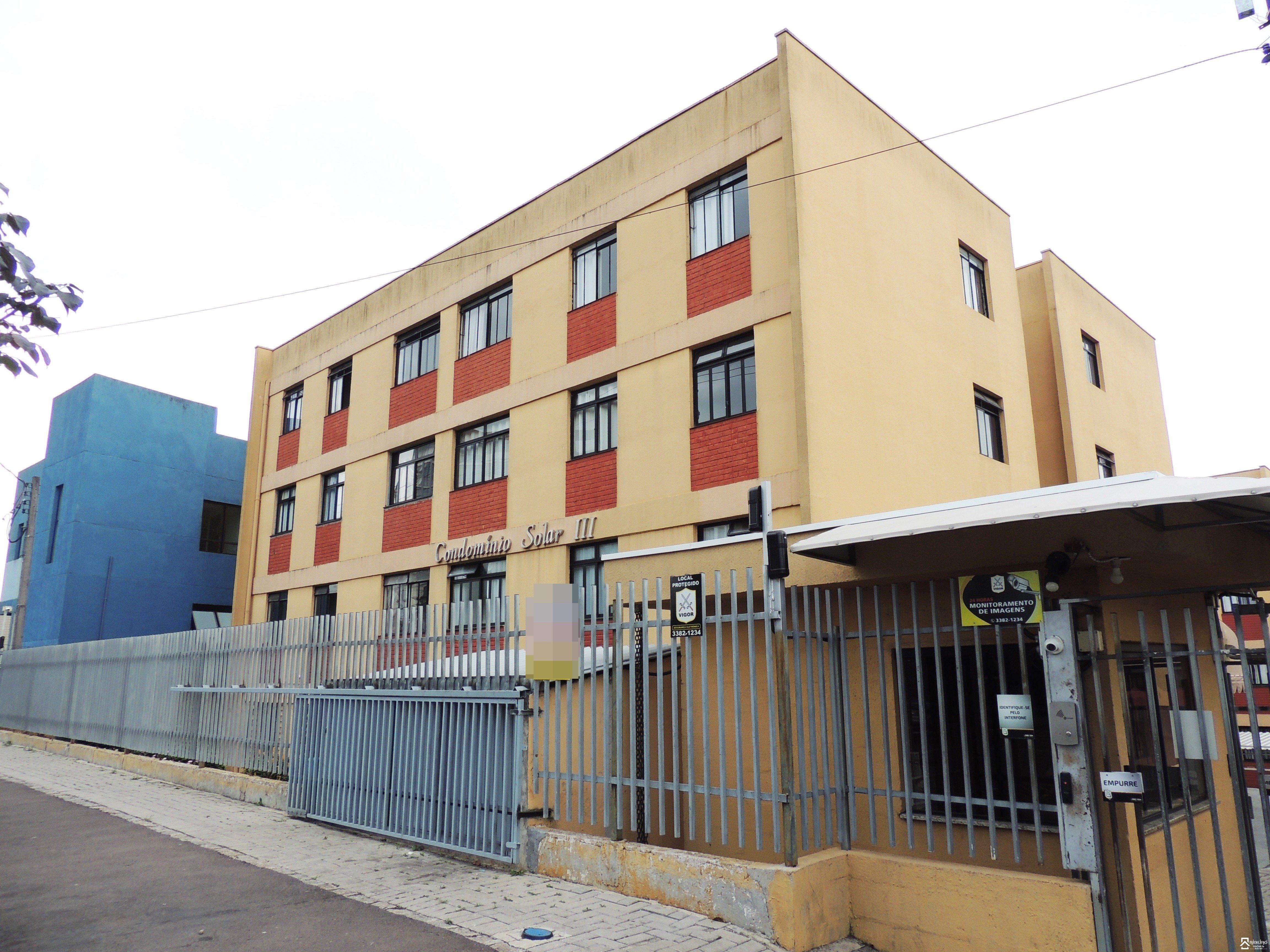 REF. 2080 -  São José Dos Pinhais - Rua  Joaquim Nabuco, 2068 - Apto 04 - Bl K