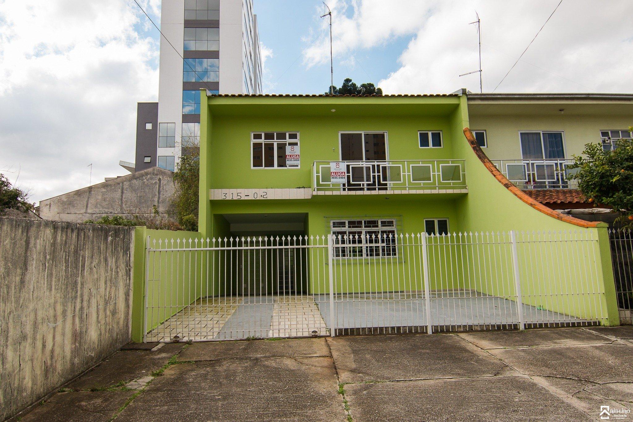REF. 4844 -  São José Dos Pinhais - Rua  Paulino De Siqueira Cortes, 315 - Sobrado 02