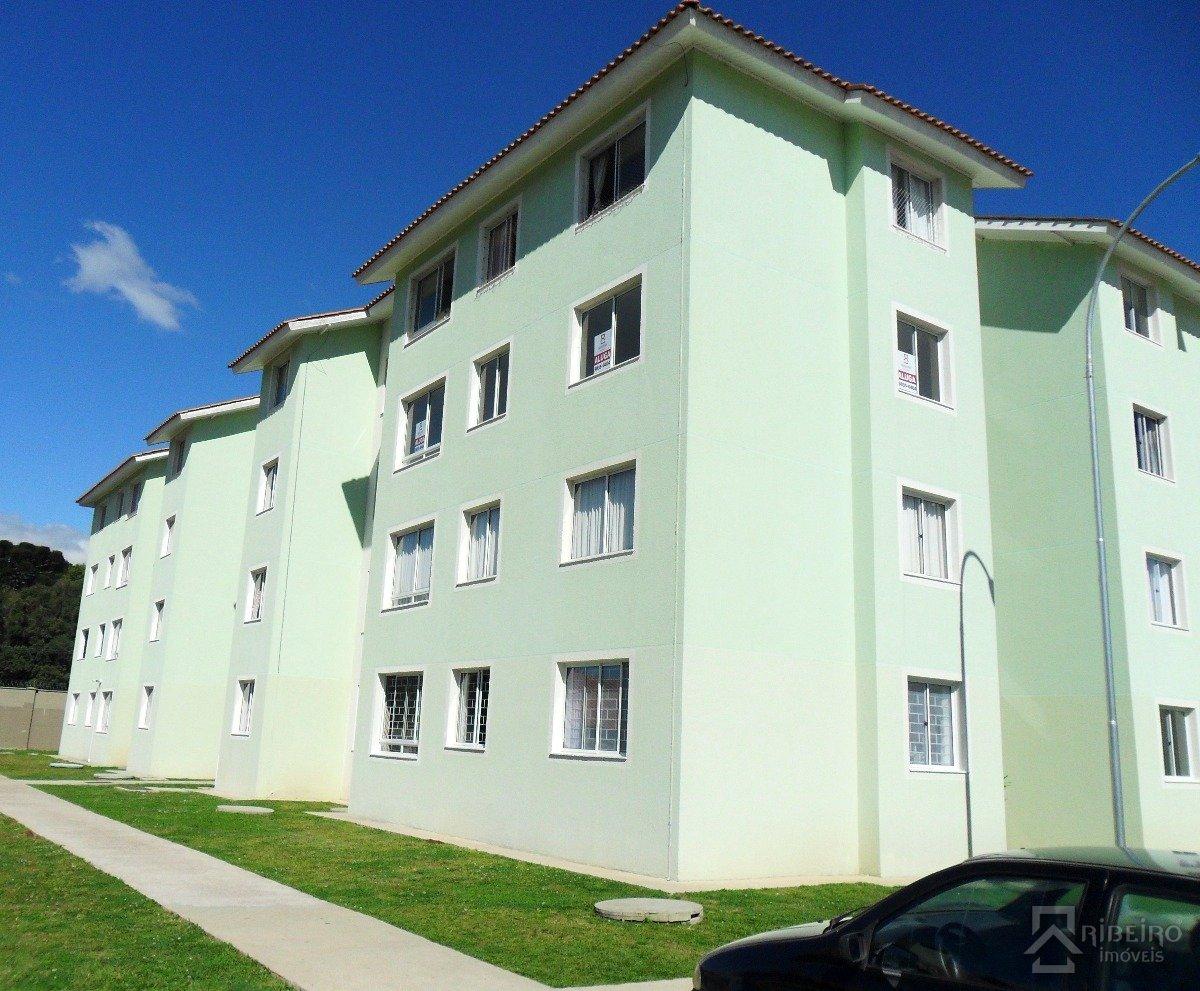 REF. 5002 -  São José Dos Pinhais - Rua  Elza Scherner Moro, 10 - Apto 37 - Bl 07