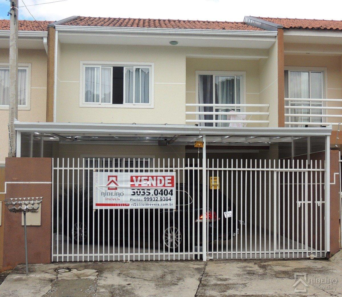 REF. 5362 -  São José Dos Pinhais - Rua  Alfredo Mulhsted Filho, 893 - Sobrado 04