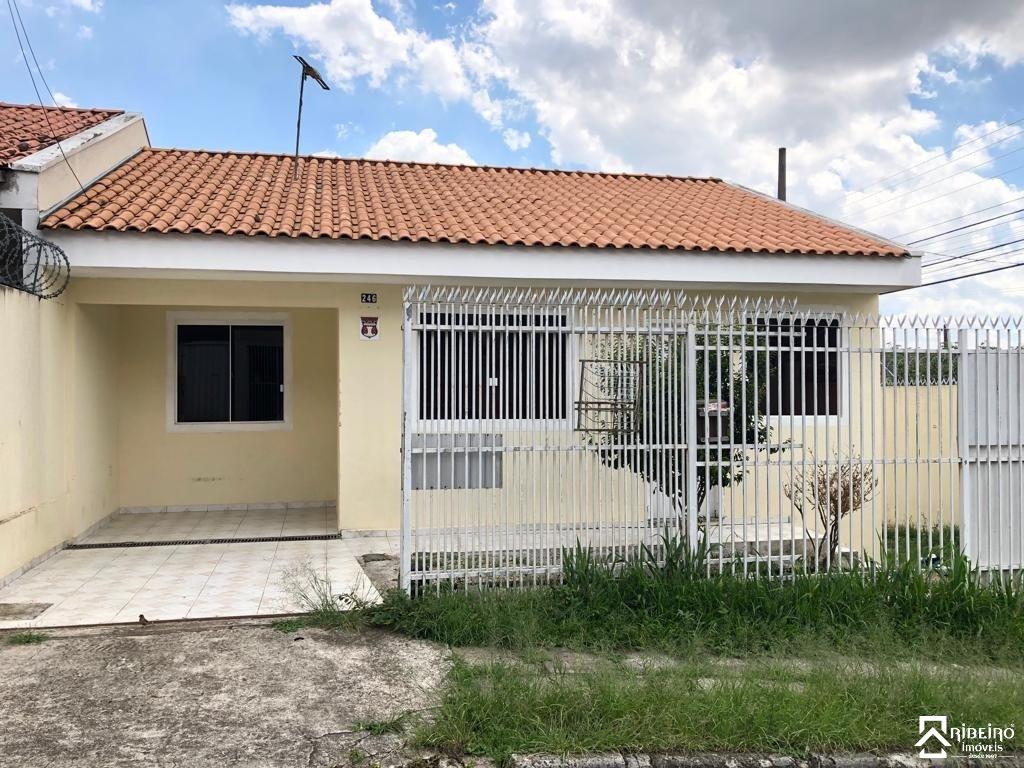 REF. 6727 -  São José Dos Pinhais - Rua  Israel De Andrade Pereira, 246