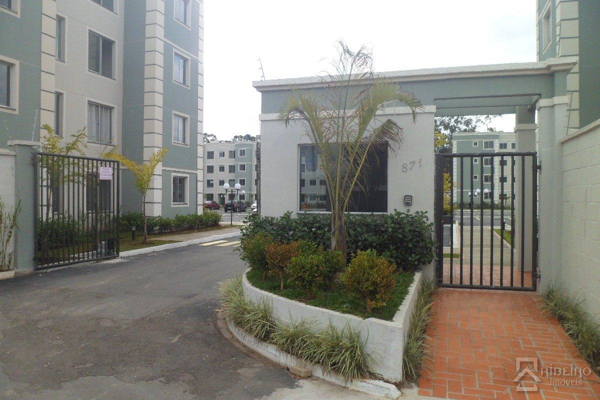 REF. 6812 -  São José Dos Pinhais - Rua  Das Nacoes Unidas, 871 - Apto 302 - Bl 03
