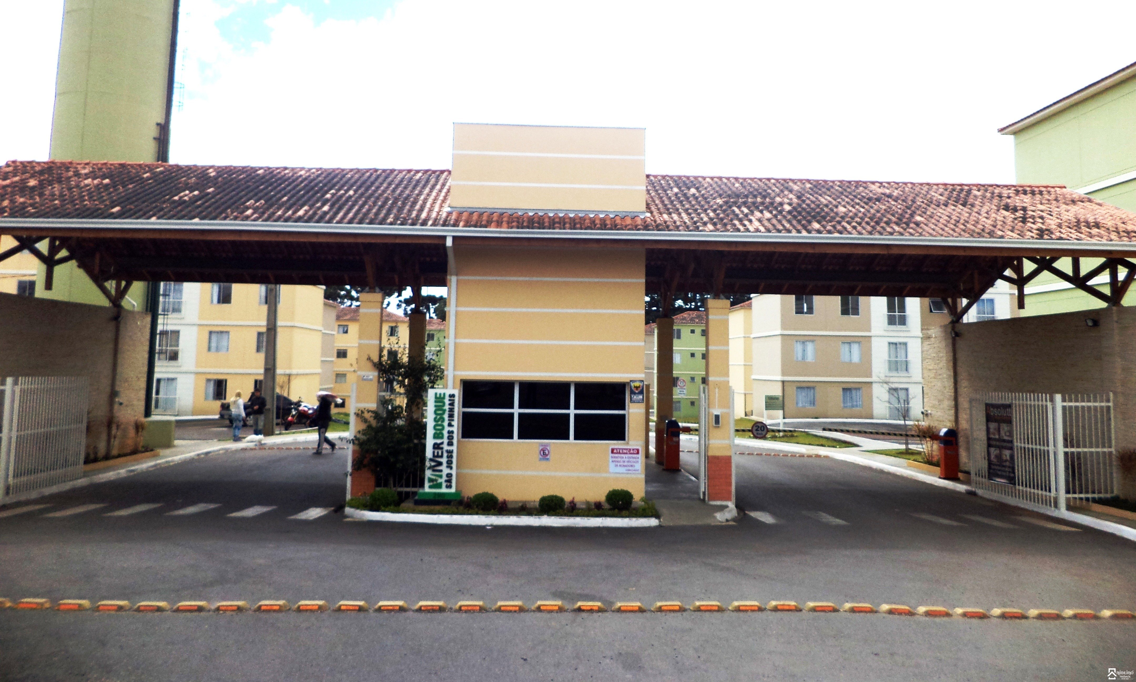 REF. 7641 -  São José Dos Pinhais - Rua  Rua Agenor Lino De Oliveira, 290 - Apto 401 - Bl 34