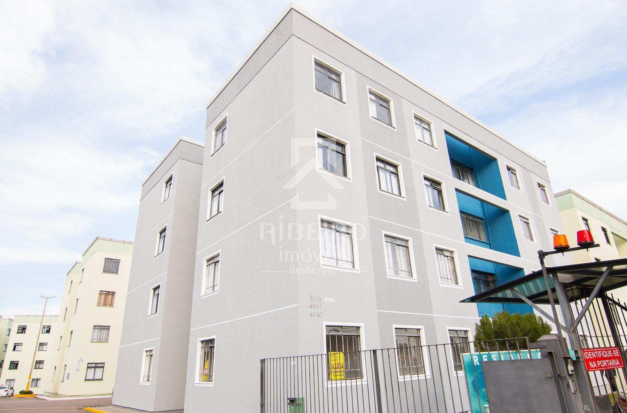 REF. 7836 -  São José Dos Pinhais - Rua  Tenente Djalma Dutra, 4017 - Apto 01 - Bl 04