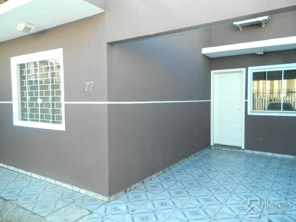 REF. 7888 -  São José Dos Pinhais - Rua  Maria Paulina Pereira, 77 - Casa 02