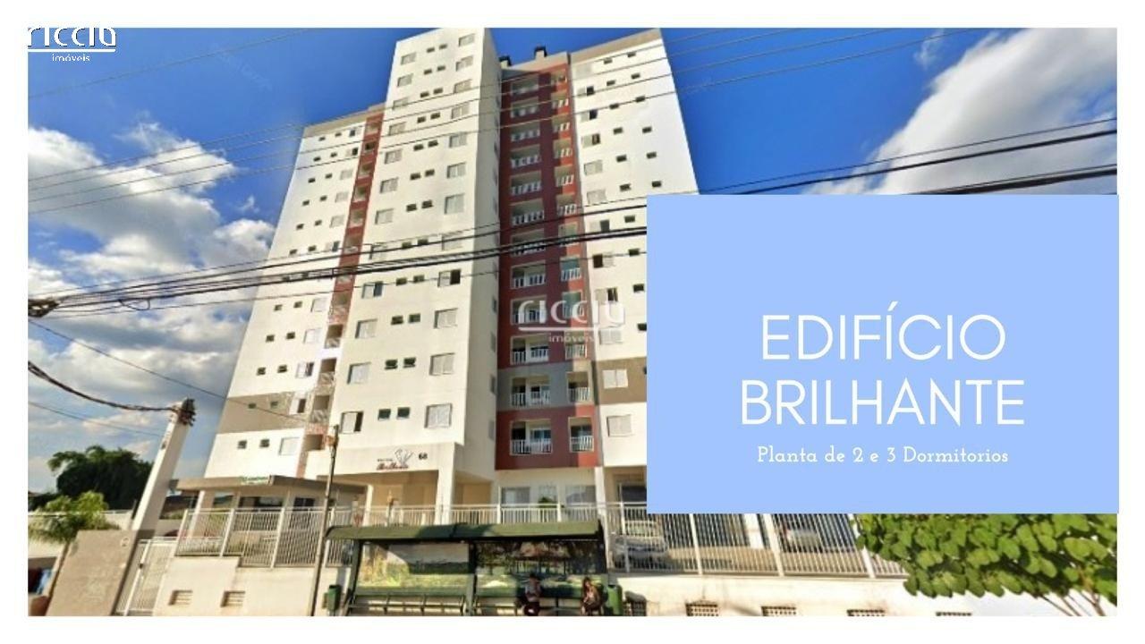 O Edifício Brilhante oferece ótimos apartamentos no Urbanova em São José dos Campos com: 52 m² e 59 m², 2 dormitórios, 1 vaga ou 2 vagas, living, cozinha, área de serviço, sacada com churrasqueira. O condomínio possui salão de festas.
