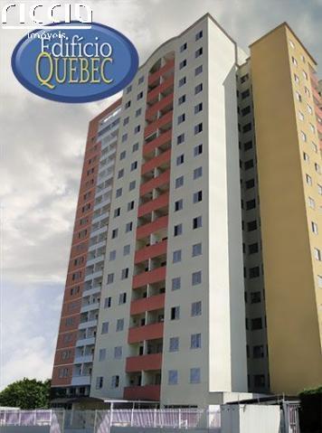 O Edifício Quebec fica no bairro Conjunto Residencial Trinta e Um de Março em São José dos Campos - SP.  Piscina, salão de jogos, playground e churrasqueira.