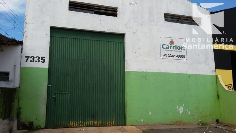 06270.003, Galpão, 250 m² à venda no Igapo - Londrina/PR