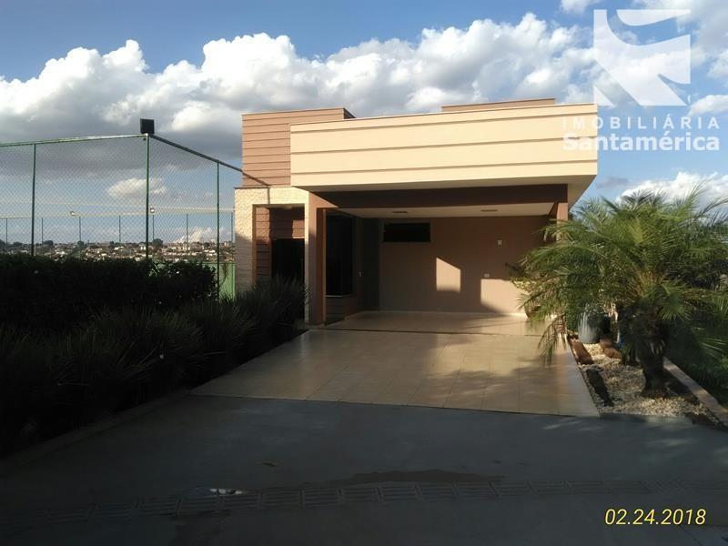 40610.003, Casa  no Condomínio Golden Hill Residence, de 3 quartos, 139 m² à venda no Esperança - Londrina/PR