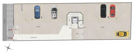 Cobertura de 75,50m²,  à venda