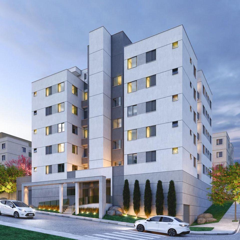 Apartamento de 53,99m²,  à venda