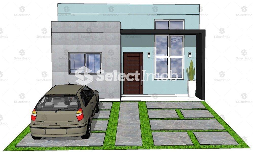 Condomínio Residencial Jardim - Planta da unidade 907