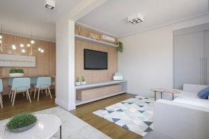 Apartamento em Jardim América, São Paulo com 2 domitórios e 1 suíte