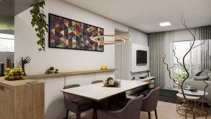 Apartamento em Moema, São Paulo com 2 domitórios e  suíte