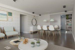 Apartamento em Pinheiros, São Paulo com 3 domitórios e 1 suíte