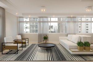 Apartamento em Itaim Bibi, São Paulo com 2 domitórios e 2 suítes