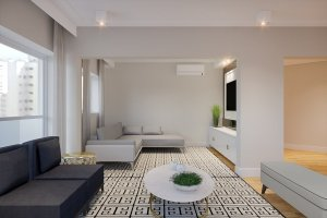 Apartamento em Moema, São Paulo com 3 domitórios e 3 suítes