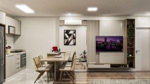 Apartamento em Vila Nova Conceição, São Paulo com 1 domitórios e 1 suíte
