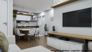 Apartamento em Higienópolis, São Paulo com 3 domitórios e 1 suíte