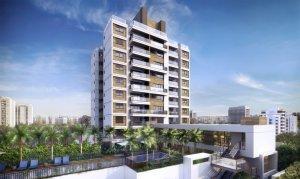 Apartamento em Vila Madalena, São Paulo com 2 domitórios e 2 suítes