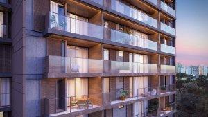Apartamento em Vila Madalena, São Paulo com 2 domitórios e 1 suíte