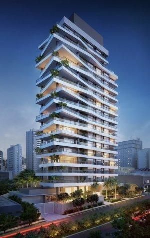Apartamento em Paraíso, São Paulo com 4 domitórios e 4 suítes
