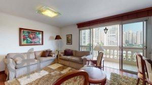 Apartamento em Campo Belo, São Paulo com 3 domitórios e 1 suíte