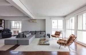 Apartamento Modernista ao Lado do Paulistano