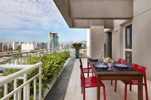 Penthouse no Itaim Bibi